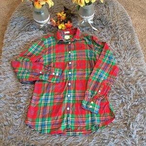 J.Crew Factory Plaid Flannel Size XS